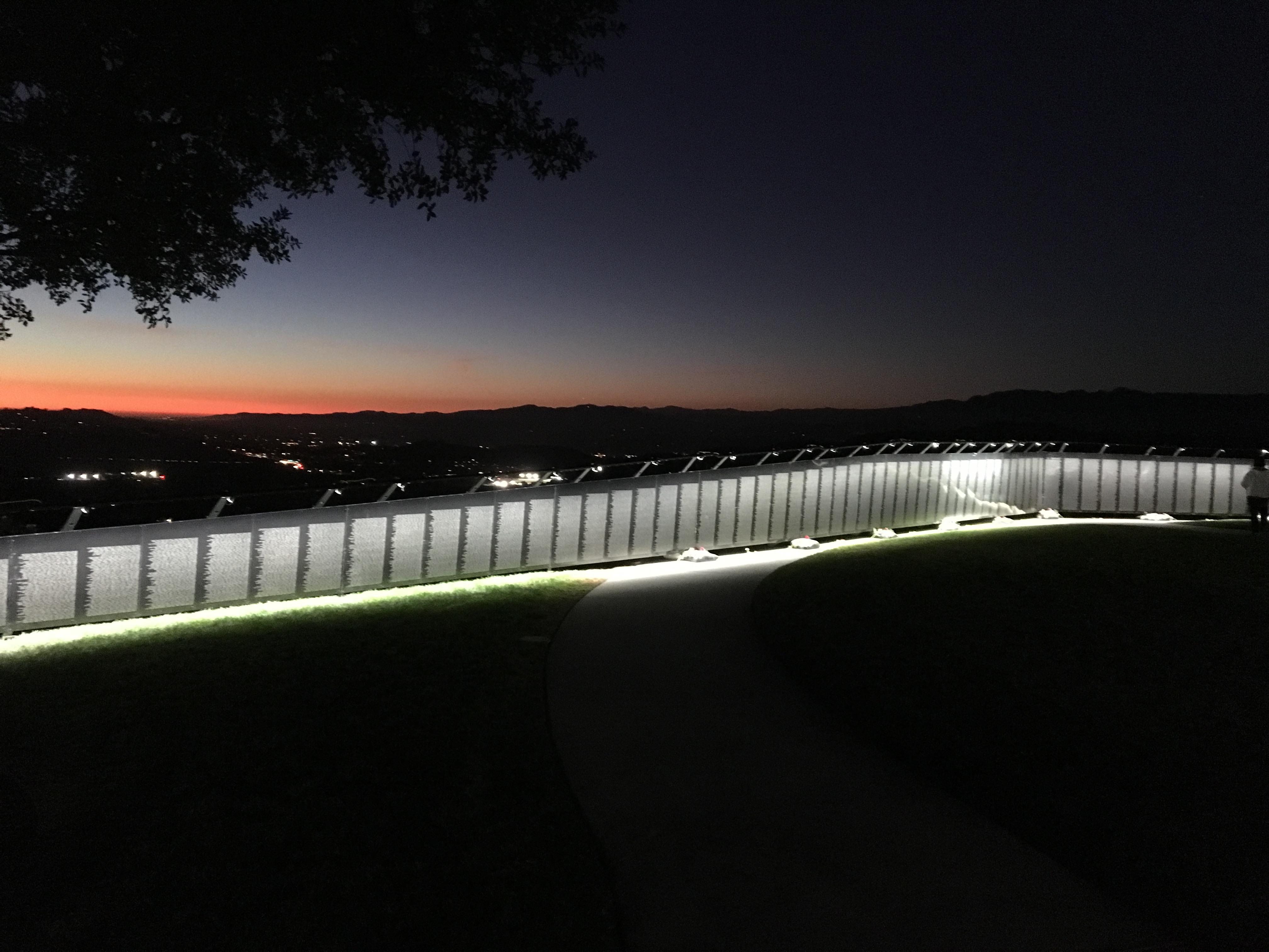 THE WALL AT NIGHT IMG_8116